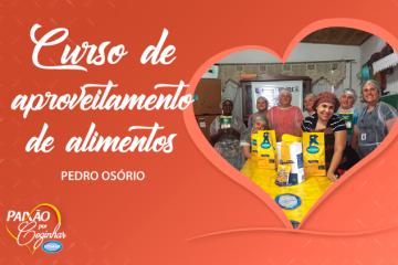 Viviana apoia Curso de Aproveitamento de Alimentos em Pedro Osório